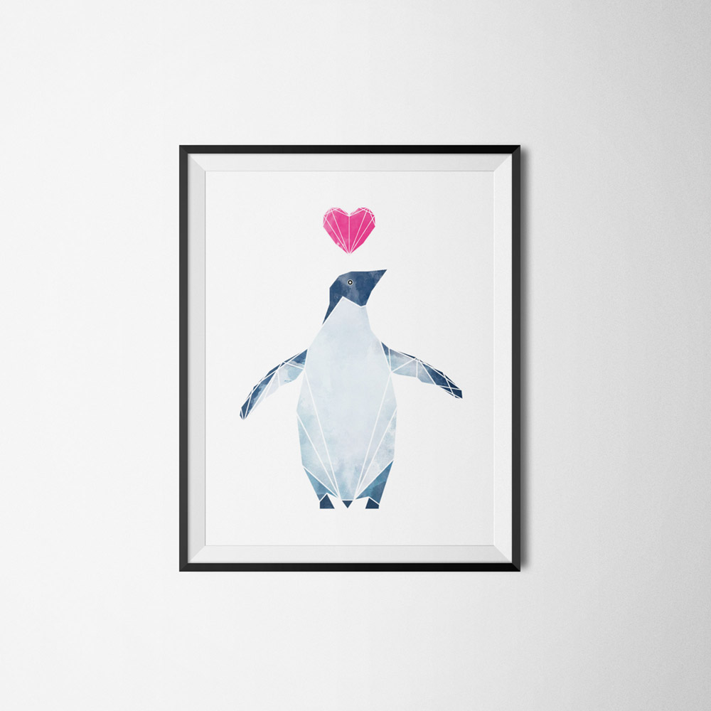 Penguin_on_Frame